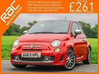 2013 Abarth 500 Turismo T-Jet 1.4 Turbo 160 BHP MTA Auto Sunroof Leather Bluetoo