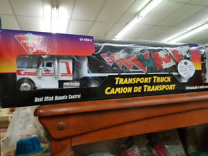 Canadian Tire Remote Control Transport Truck (wired) Toy