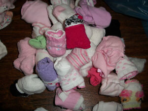 New and Used Girls Clothing LOT 0-3MTHS