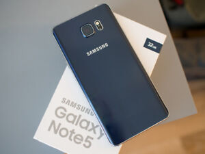 Samsung Note 5 - Unlocked and Mint Condition CAD $375