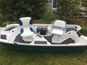 Basshound 2 person fishing boat