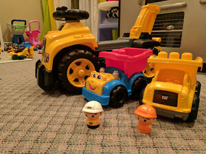 CAT Mega blocks trucks Cambridge Kitchener Area image 1