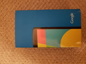 Like new in box Nexus 5 by Google. Black. 16 GB. Priced to sell.