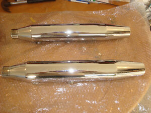 Stock Pipes for Harley Softail