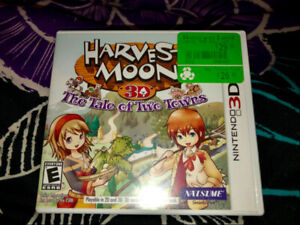 Harvest Moon Tale of Two Towns & Story of Seasons -Nintendo 3DS