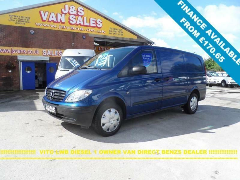 204adc53eb 2011 60 MERCEDES-BENZ VITO 2.1 111 CDI LONG 116 BHP 2011 60 REG 1 LEASE  OWNER V