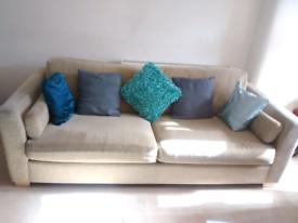 Large sofa 4 seat Furniture Village