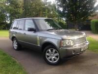 2008 Land Rover Range Rover 3.6TD V8 auto Vogue Grey With Black Leather Interior