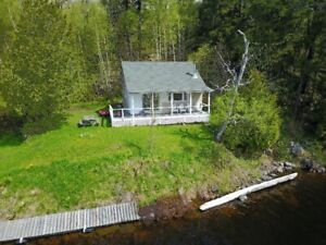 Waterfront 2 and 3 Bedroom Cottages Available
