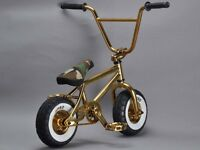 Gold Rocker 2 Mini BMX Bike (One of 50 worldwide)