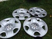 Volkswagen hubcaps