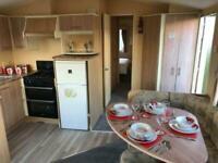 used 6 berth static caravan for sale at trecco bay / south wales SEA VIEW