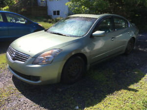 2007 nissan altima 2.5S(parting out)