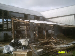 WANTED:   BARNS READY FOR  DEMOLITION