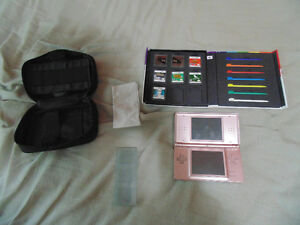 Selling Pink Nintendo with games and accessories