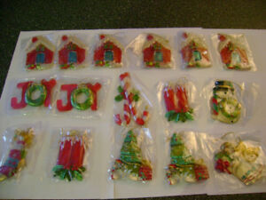 16 pc brand new Christmas tree ornaments.