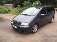 2006 SEAT ALHAMBRA TDI WHEEL CHAIR ACCESS/DISABLED
