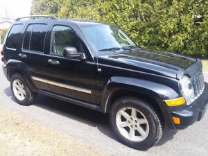 2006 Jeep Liberty limited VUS Pas de Rouille A1 Clean
