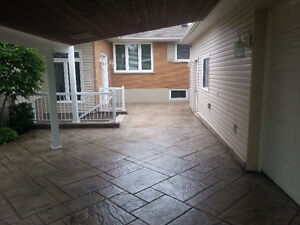 Exposed Aggregate, Stamped Concrete, Flagstone - Sealing London Ontario image 8