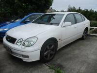 Lexus GS 300 3.0 auto SE + SPARES OR REPAIRS