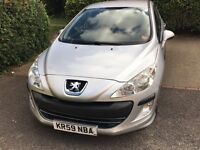 Peugeot 308 automatic 1.6 lovely car