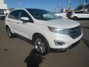 2016 Ford Edge TITANIUM AWD w/Navigation, Leather & Sun Roof