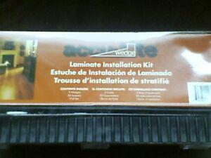 Installation kit for laminate flooring
