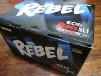 BRAND NEW Canon EOS Rebel SL1 with 18-55mm IS STM lens kit