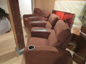 La-Z-Boy Cinema Maison Inclinable - Home Theater Reclining Seats West Island Greater Montréal image 1
