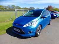 FORD FIESTA ZETEC S, Blue, Manual, Petrol, 2009
