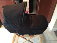 Silver Cross Sleepover Elegance Travel System - pram/buggy/car seat plus extras