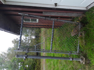 Anyone interested metal fence and poles..