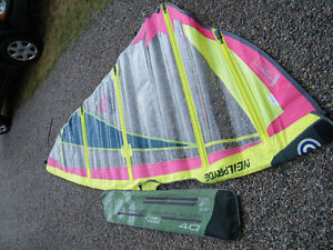 Windsurf Sail, Fins and Accessories