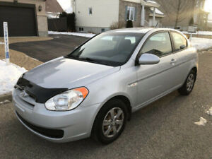 ACCENT 2009 137000KM, A/C ANTIROUILLE MAGS IMPECCABLE 2900$