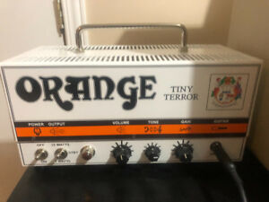 Orange Tiny Terror Tube Head with Case/bag/Boss Ds-1 pedal