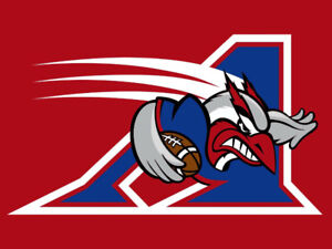 Billet (4) alouettes montreal section platine