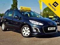 2013 PEUGEOT 308 1.6 E-HDI SW ACCESS 5D 115 BHP! P/X WELCOME+1 OWNER+AUTO+FSH!