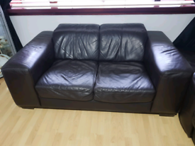 2 seater sofa, electric chair & foot stool