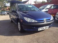 Peugeot 206 sw style 1.1 estate