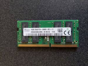 Laptop ram and ssd