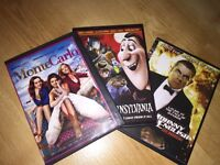 3 DVD's for sale