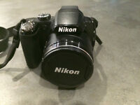 Nikon Coolpix P90 12.1MP Digital Camera with 24x Wide Angle