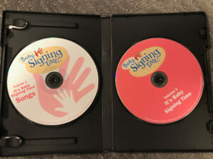 Baby Signing Time DVDs and Flashcards