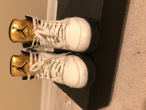 Air Jordan 5 gold metallic size 9 8.5/10 condition