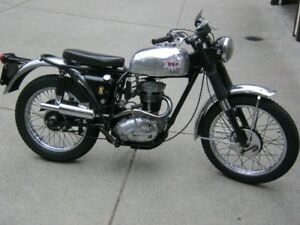 1965 BSA C15 Starfire Roadster motorcycle