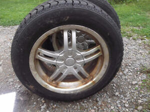 For sale 4- 195/60/15 tires