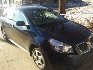 2009 Pontiac Vibe matrix, rack et attache remorque