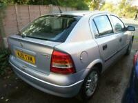 Vauxhall/Opel Astra 1.6i ( a/c ) 2002MY Club DRIVES LOVELY RETIRED OWNER £399