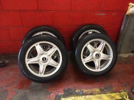 Mini Cooper 16 inch alloy wheels