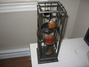 candle holder, wall hanging and floor candle holder